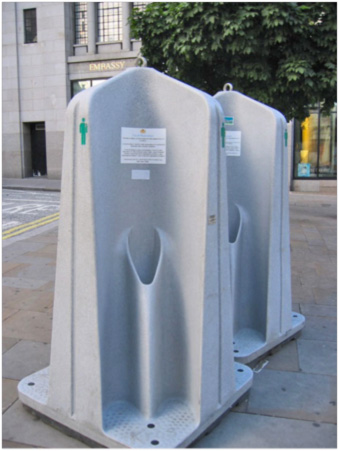 Australia S Pop Up Urinals Eyesore Or Portable Toilets At